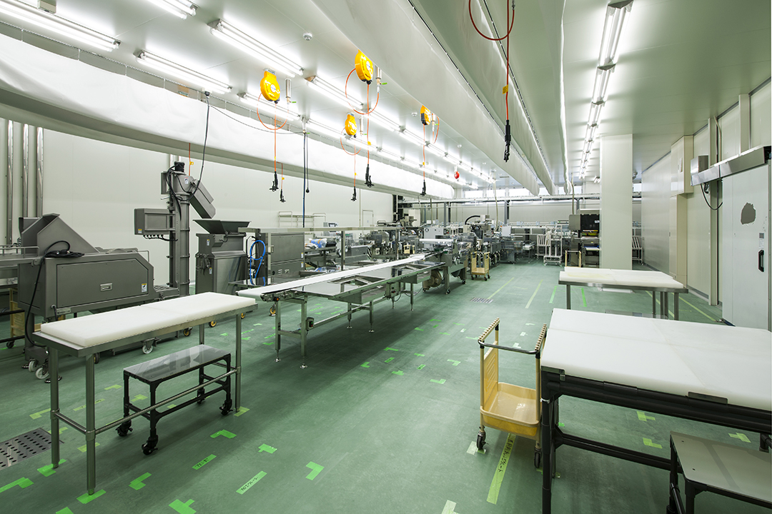 瀬戸プロセスセンター 鶏肉生産加工室
