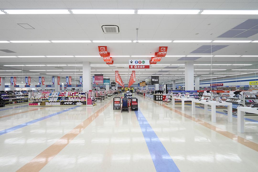 ケーズデンキ稲沢店 売場
